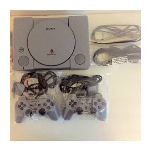 PlayStation 1 PS1 With Two Dual Shock Analog Controllers