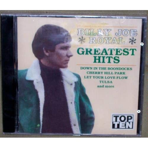 Image 0 of Billy Joe Royal Greatest Hits Special By Billy Joe Royal On Audio CD Album