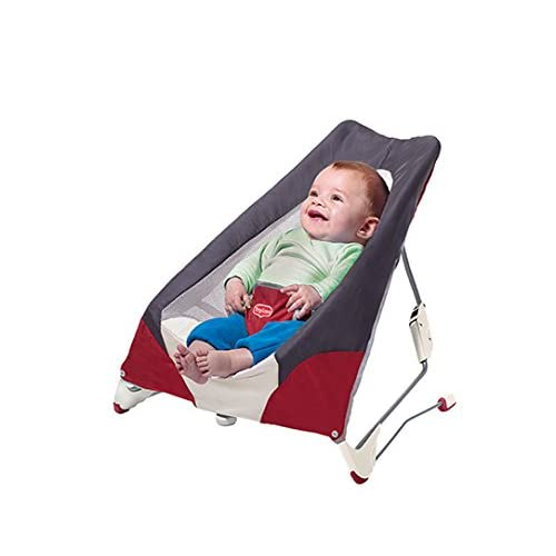 Tiny Love Take Along Baby Bouncer Grey/red Gray