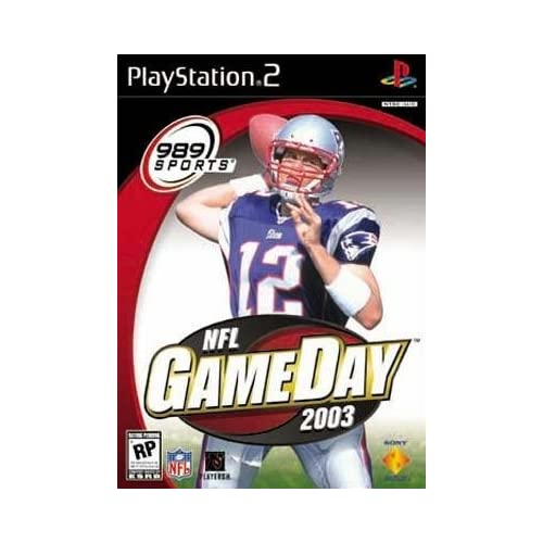 NFL GameDay 2003 For PlayStation 2 PS2 Football