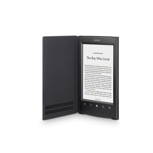 Sony Standard Cover For eReader PRS-T2 Black Case Folding Folio PRSASC
