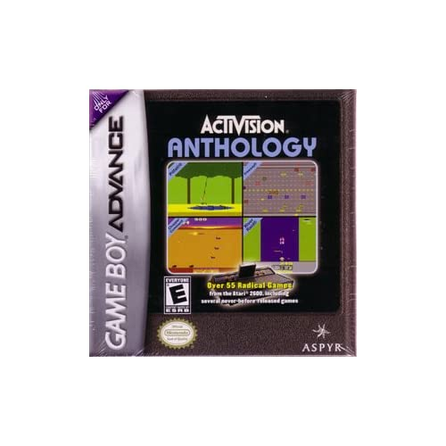 Activision Anthology For GBA Gameboy Advance Arcade