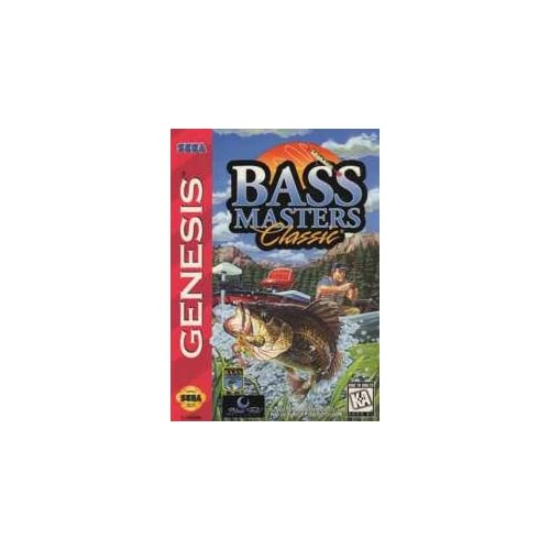 Bass Masters Classic For Sega Genesis Vintage Shooter