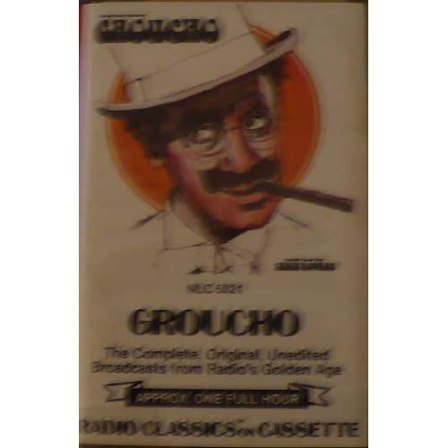 Groucho Radio Classics 5021 On Audio Cassette