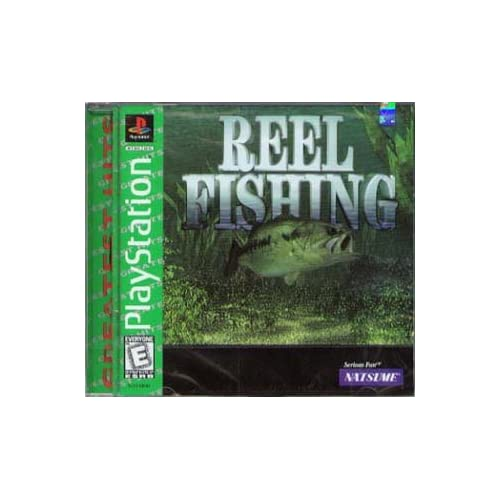 Reel fishing for playstation 1 ps1 for Ps3 fishing games