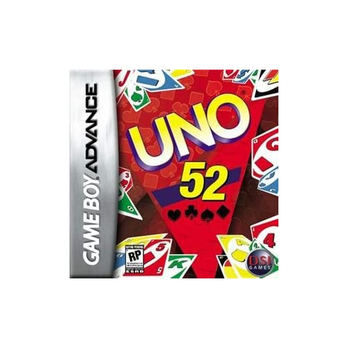 Uno 52 Game Boy Advance For GBA Gameboy Advance