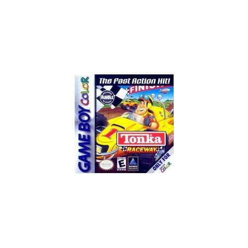 Tonka Raceway With Rumble Pack On Gameboy Color Racing