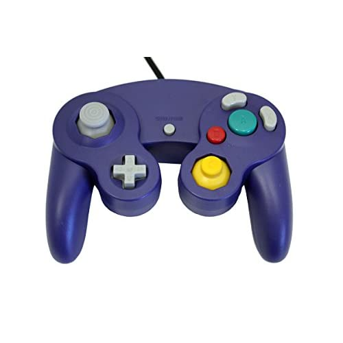 Image 0 of GameCube USB Controller Purple For Windows MAC And Linux By Mars