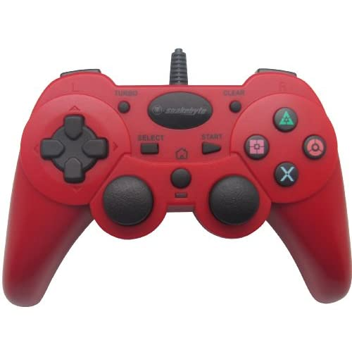 Image 0 of Snakebyte SB00733 Basic USB Wired Game Controller For PlayStation 3 And PC Red P