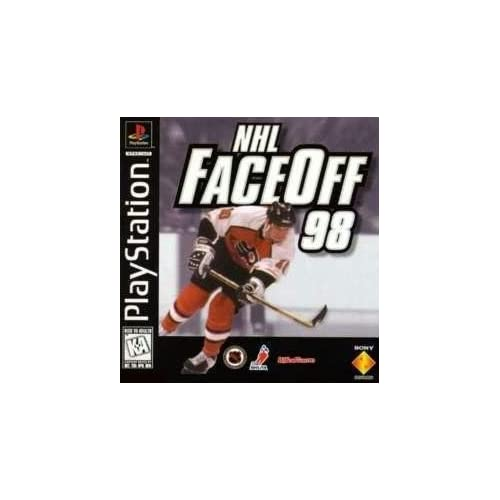 NHL Faceoff 98 For PlayStation 1 PS1 Hockey