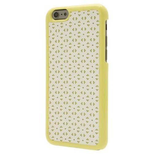 Image 0 of End Scene Case For Apple iPhone 6 Yellow/White Cover 6S