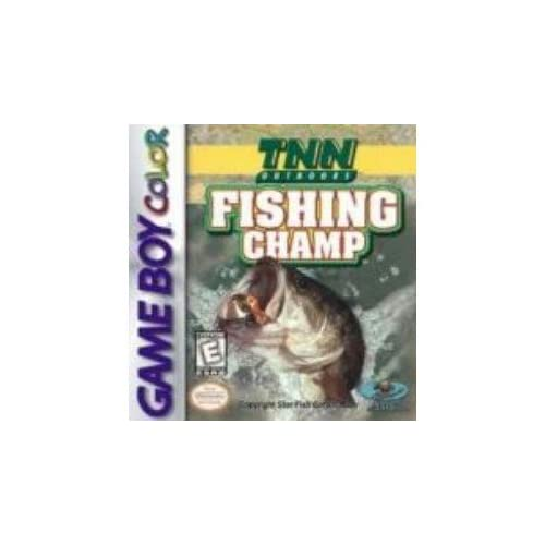 TNN Fishing Champ On Gameboy Color