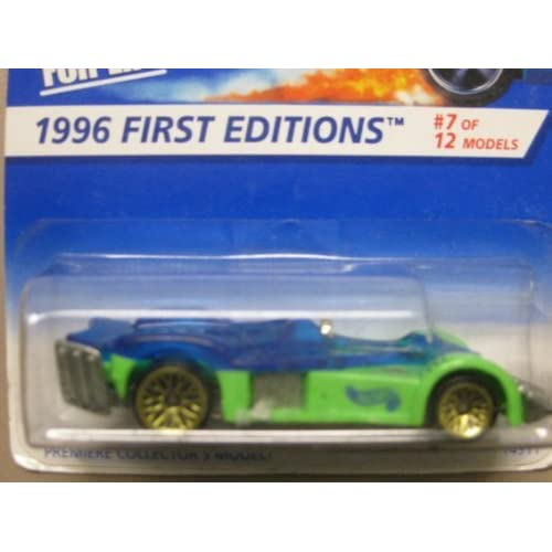 Hotwheels Road ROCKET-1996 1st Edition #7-12 Collector #371 Toy Green