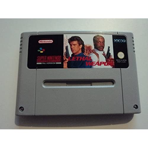 Lethal Weapon Nintendo Super NES For Super Nintendo SNES Shooter