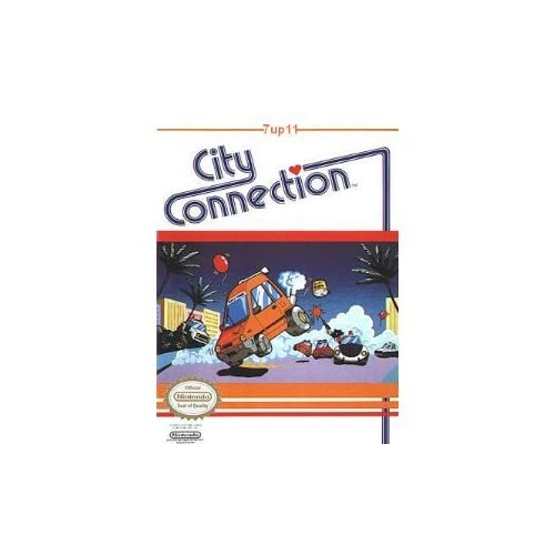 City Connection For Nintendo NES Vintage