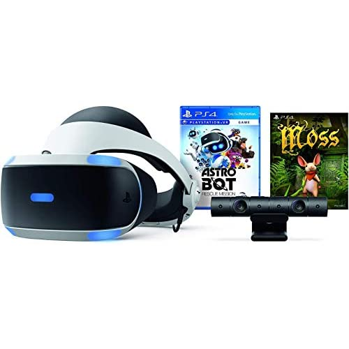 Image 0 of PlayStation VR Astro Bot Rescue Mission Moss Super Bundle: PlayStation VR Headse
