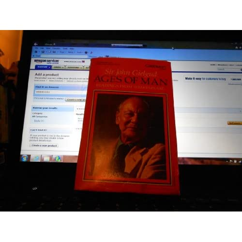 Image 0 of Ages Of Man By William Shakespeare On Audio Cassette