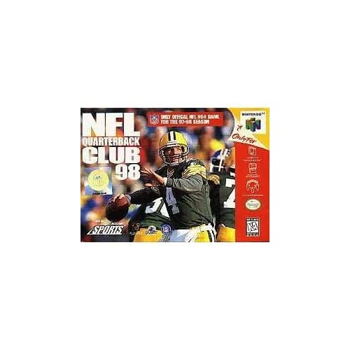 Image 0 of NFL Quarterback Club 98 For N64 Nintendo Football