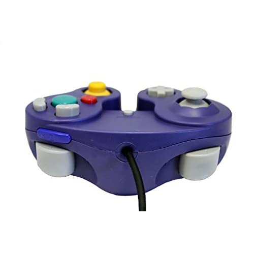 Image 2 of GameCube USB Controller Purple For Windows MAC And Linux By Mars