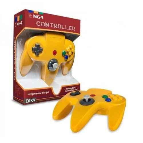 Image 0 of Yellow N64 Controller Nintendo 64 Classic