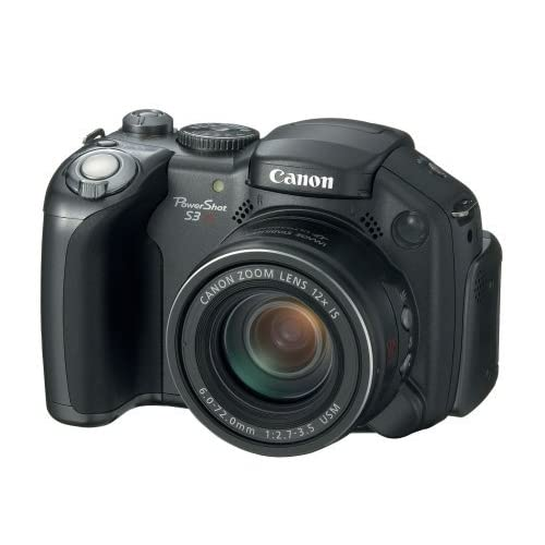 Image 0 of Canon Powershot Pro Series S3 Is 6MP With 12X Image Stabilized Zoom Camera Black