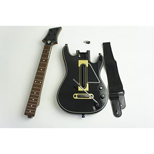 Image 0 of Guitar Hero Live Wireless Guitar Controller 0000654 For PS3 With Dongle And Stri