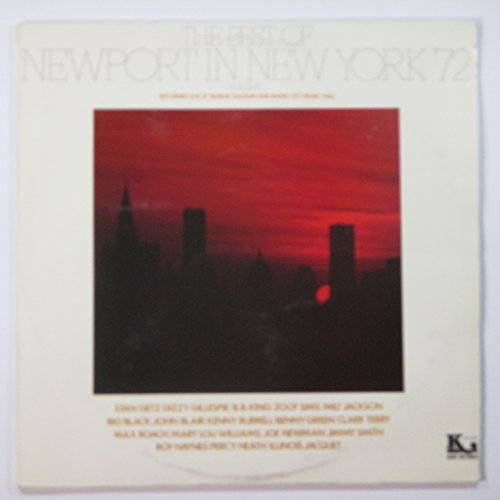 Image 0 of The Best Of Newport In New York '72 Volume 1 By Various Stan Getz Dizzy Gillespi