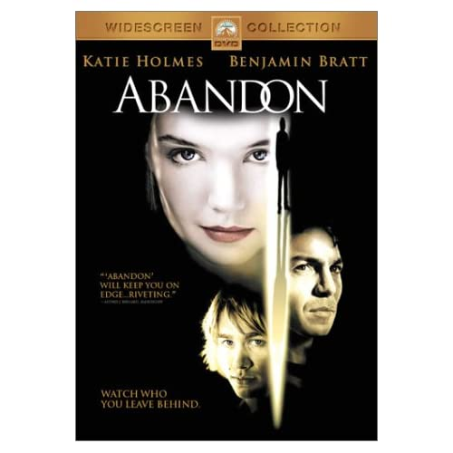 Image 0 of Abandon On DVD With Katie Holmes