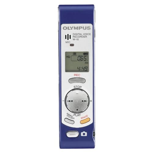 Image 0 of Olympus W-10 Digital Voice Recorder With Built-In Digital Camera