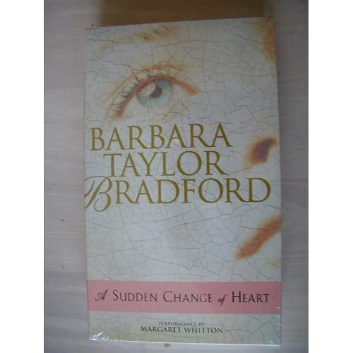 Image 0 of A Sudden Change Of Heart Audio Cassette Abridged By Barbara Taylor Bradford Marg