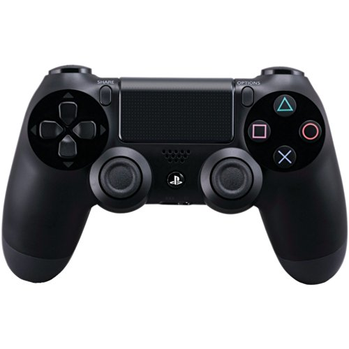 Image 0 of Dualshock 4 Wireless Controller For PlayStation 4 Jet Black Renewed