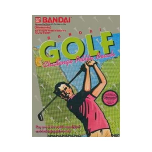 Image 0 of Bandai Golf Challenge Pebble Beach For Nintendo NES Vintage
