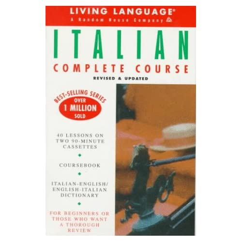 Image 0 of Basic Italian: Cassette/book Package Ll Complete Basic Courses By Living Languag