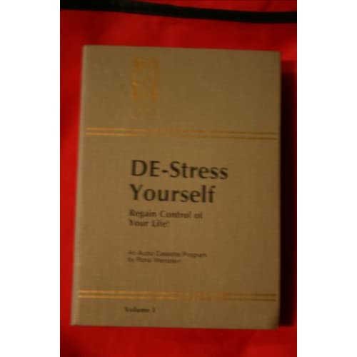 Image 0 of De-Stress Yourself: Regain Control Of Your Life By Rona Weinstein On Audio Casse