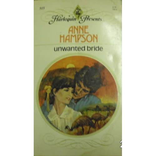 Unwanted Bride By Anne Hampson Book Paperback