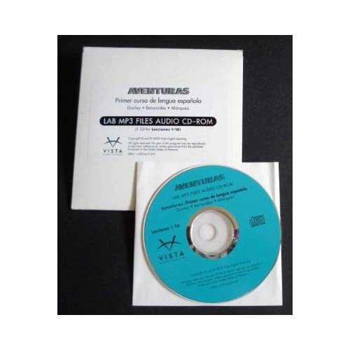 Aventuras Lab MP3 Files Audio CD-Rom Software