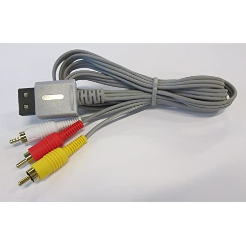 Image 0 of Composite AV Cable For By Mars Devices Gray A/v For Wii And Wii U