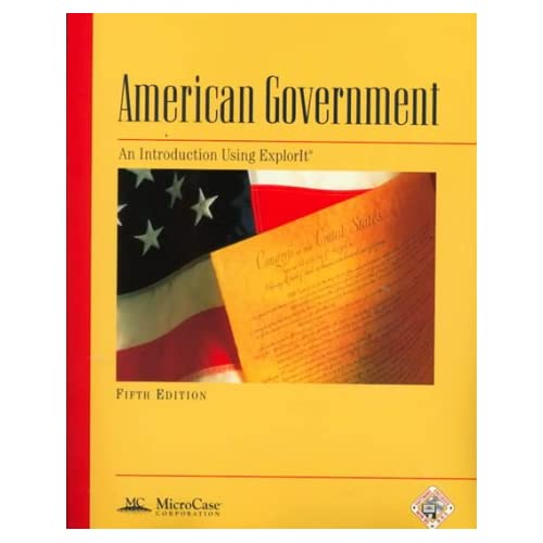 American Government An Introduction Using ExplorIt