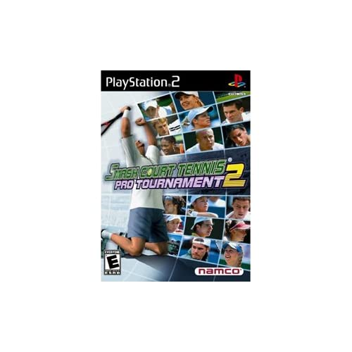 Smash Court Tennis 2 For PlayStation 2 PS2 Soccer