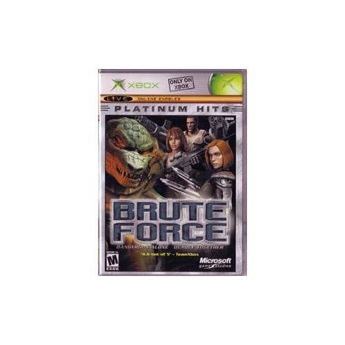 Brute Force For Xbox Original Shooter