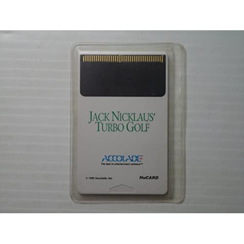 Image 0 of Jack Nicklaus' Turbo Golf For Turbo Grafx 16 Vintage