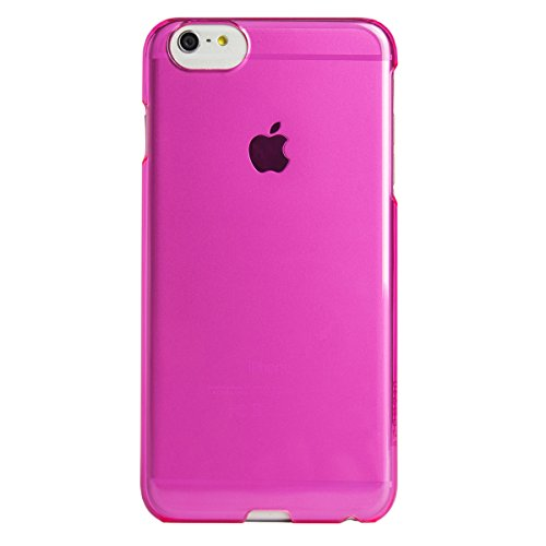 AGENT18 iPhone 6 Plus Clearshield Pink Translucent Case Cover Fitted UA113SL012