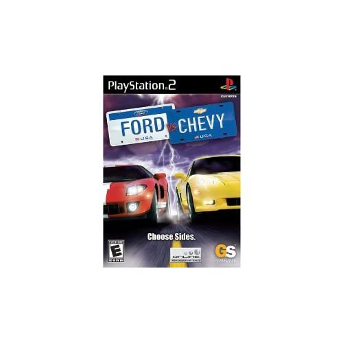 Ford Vs Chevy For PlayStation 2 PS2
