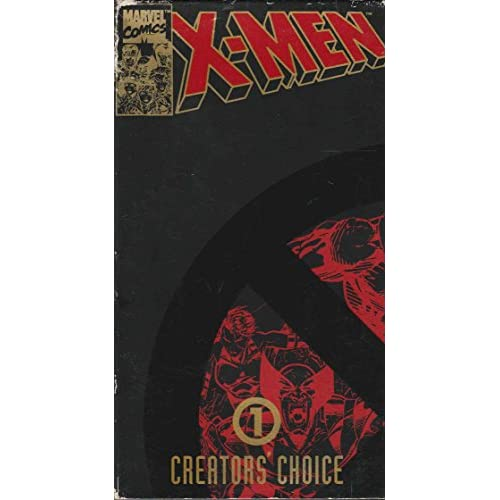 X-Men Creator's Choice #1 Night Of The Sentinels On VHS