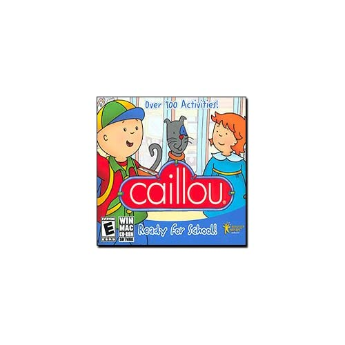 Image 0 of Caillou Ready For School PC & MAC Software
