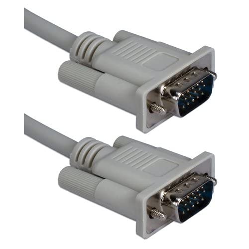 Image 0 of QVS CC388-10 10 Ft VGA & Uxga HD15 Male To Male Video Cable