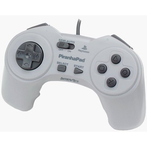 Image 0 of Interact Piranhapad PlayStation For PlayStation 1 PS1 Gray Gamepad Pirahnapad Gr