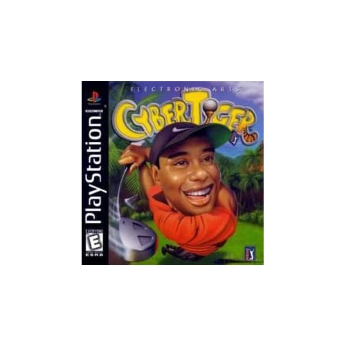 Image 0 of Cyber Tiger Tiger Woods For PlayStation 1 PS1