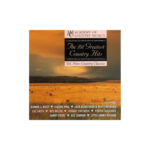 101 Greatest Country Hits Vol 9: Country Classics On Audio CD Album 1997
