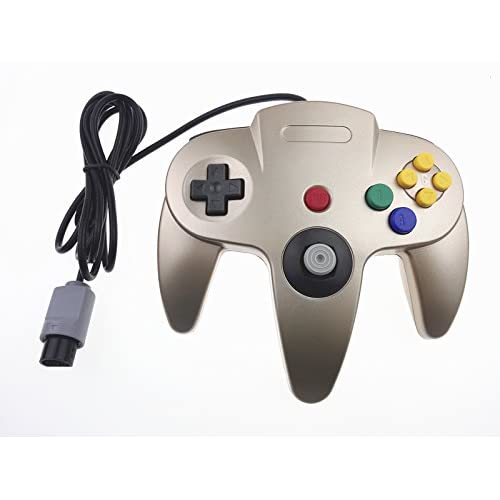 Image 0 of Generic Classic Nintendo 64 Controller Gold For N64 Zelda